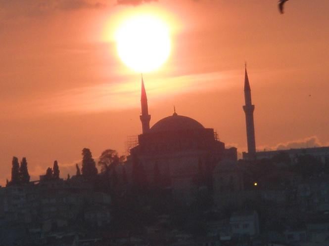 Atardecer en Estambul