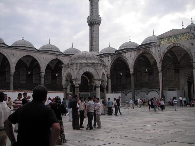 Fuente de las abluciones de la Mézquita Azul