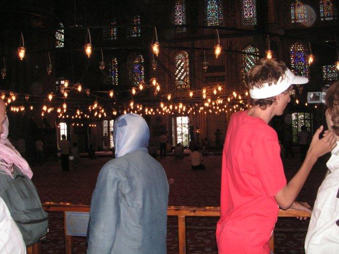Interior de la Mézquita