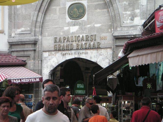 Una de las entradas al Gran Bazar