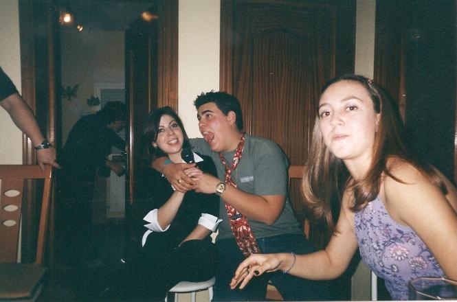 Con mi hermana Gema y mi sobrina Silvia