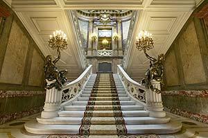 Escalera del Palacio de Linares