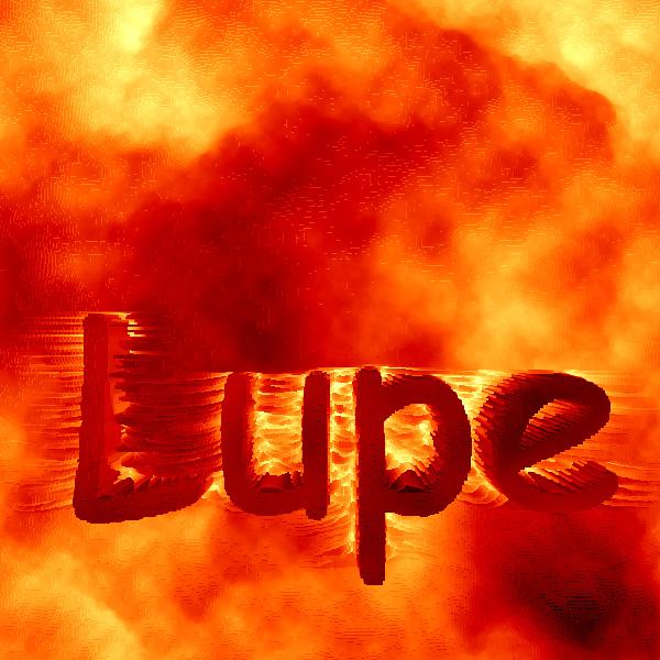 Efecto Lava o Fuego