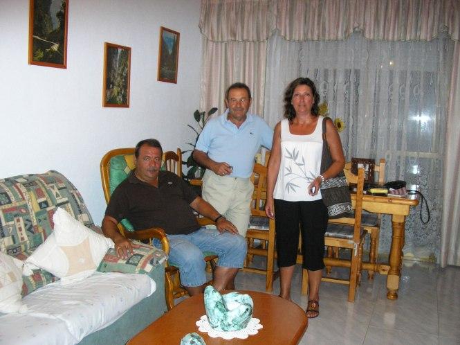 Jose, Toni y yo