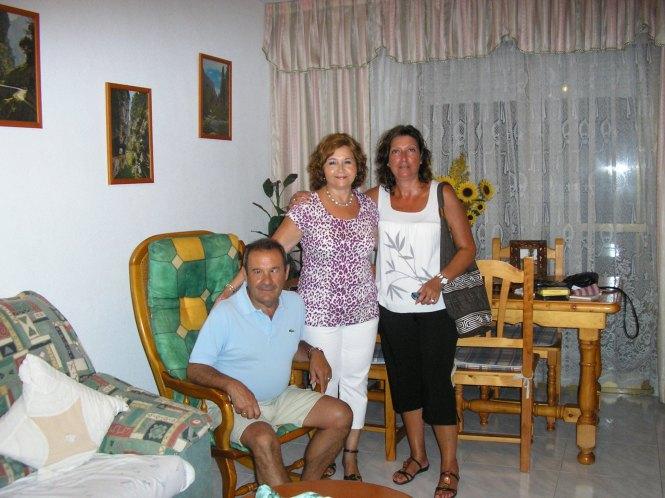 Toni, Mari Paz y yo
